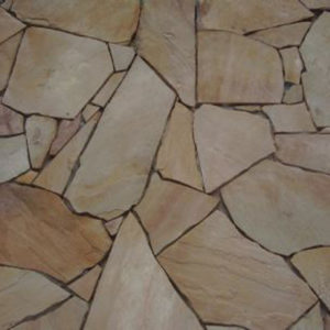 INDIAN SANDSTONE FLAGSTONE CRAZY PAVING