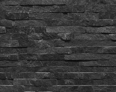 black ebony stone wall cladding tiles, natural stone tiles, water feature stone tiles, fireplace stone tiles by stone pavers melbourne, sydney, canberra