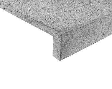 dove grey granite drop face pool coping tiles and pavers, white tiles, white pool coping tiles by stone pavers australia,