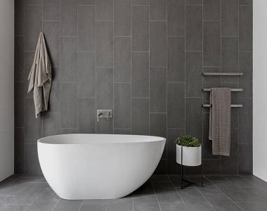 Honed Bluestone Floor Pavers 100, Bluestone Bathroom Tiles