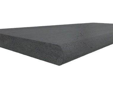 midnight bluestone bullnose pool coping tiles and pavers, black tiles and pavers