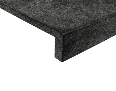 midnight granite pool coping tiles, dark coping tiles, black coping by stone pavers