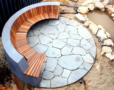 natural bluestone crazy paving pavers