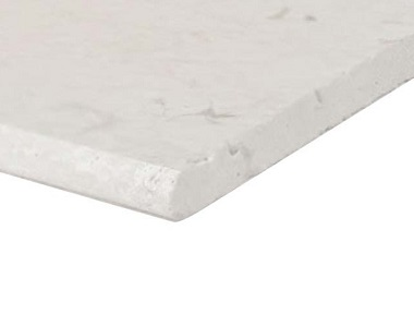shell white Limestone bullnose pool coping tiles, white pool coping tiles, round edge coping stone pavers australia