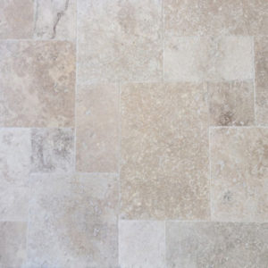 Classic French Pattern Grout Filled