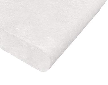 capri white bullnose pool coping tiles and pavers, white tiles and white pavers