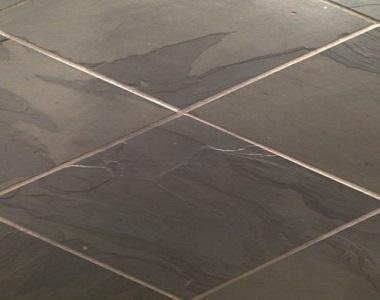charcoal grey slate tiles