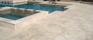 travertine-ivory-color-pool-coping-and-paving-tiles