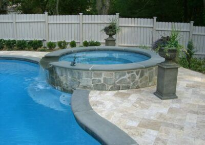 Bluestone Pool Coping Travertine Tiles