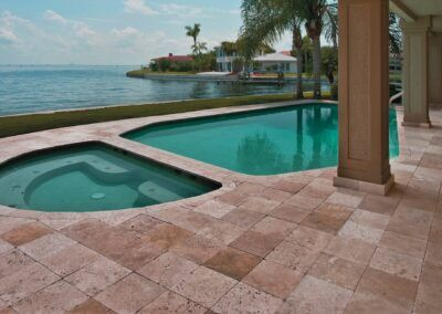 walnut-travertine-pool-tiles