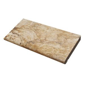 Antique Travertine Bullnose OR Tumbled Edge Pool Coping Tiles