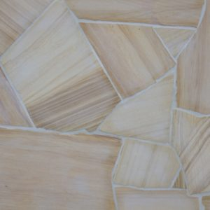 TEAKWOOD FLAGSTONE CRAZY PAVE
