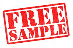 FREE samples of stone pavers and tiles