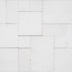 Capri White Limestone Tumbled and Honed Surface