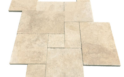 Delivery and installation of travertine tiles and pavers in Australia