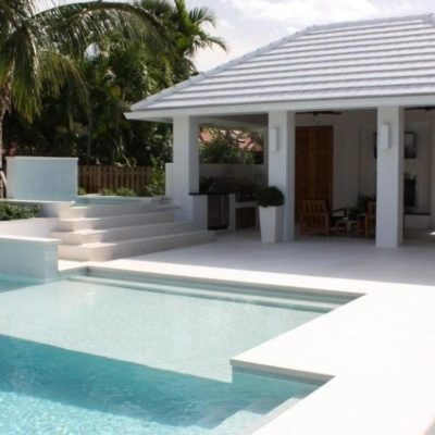White Travertine Outdoor Tiles