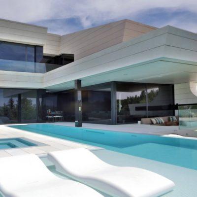 White Pool Pavers
