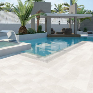White tiles outdoor pavers cheap