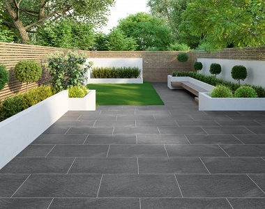 midnight bluestone pavers