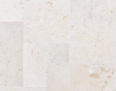 shell white french pattern pavers, white paving, stone pavers sydney