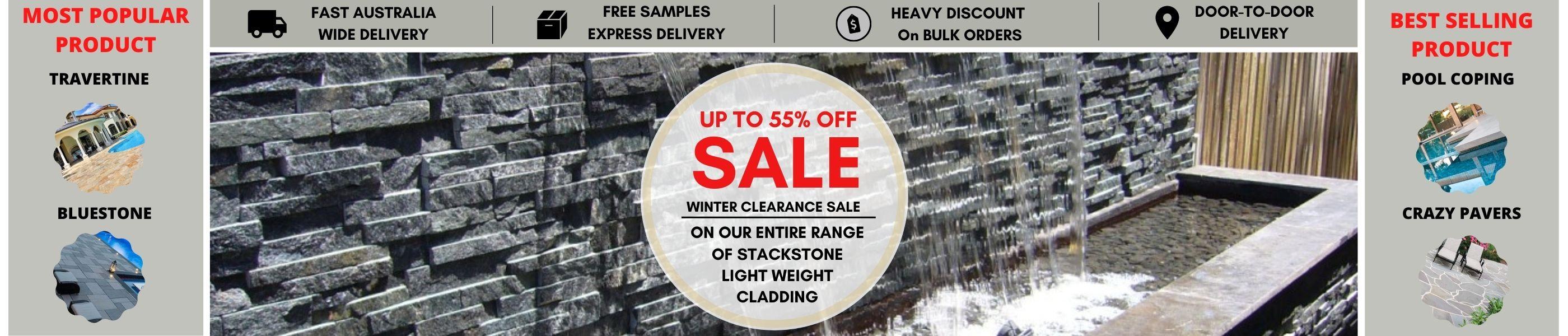 Stack Stone Light Weight Cladding