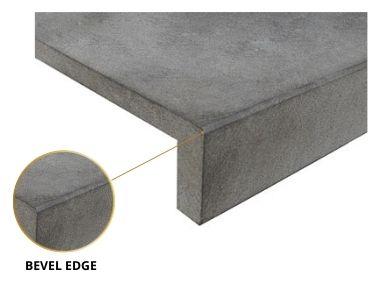 bevel edge pool coping tile