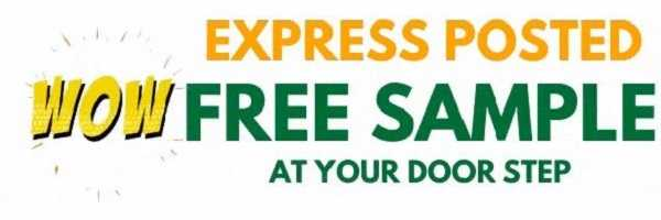 Express posted free samples
